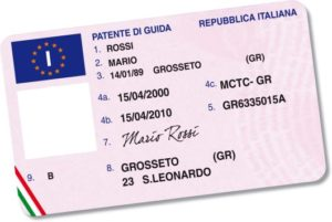 cambio di residenza e patente